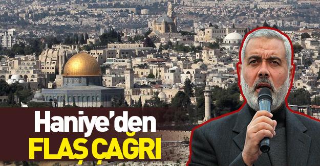 Hamas lideri Haniye'den flaş çağrı