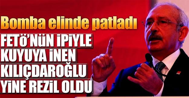 Kılıçdaroğlu'nun kaynağı yine FETÖ çıktı