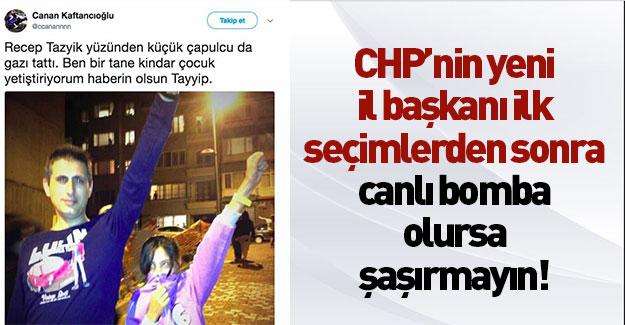 CHP'nin yeni İstanbul başkanı teröristler gibi tweet atıyor