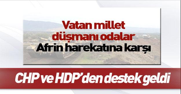 CHP ve HDP'den karanlık odalara destek