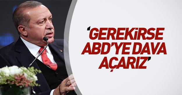 Erdoğan'dan ABD'ye flaş sözler