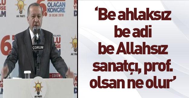 Erdoğan'dan Afrin bildirgesine sert tepki!