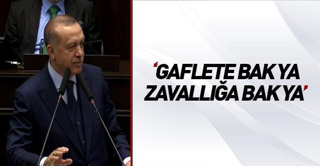 Erdoğan yine esti gürledi