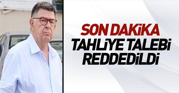 Gazeteci Şahin Alpay'ın tahliye talebi reddedildi