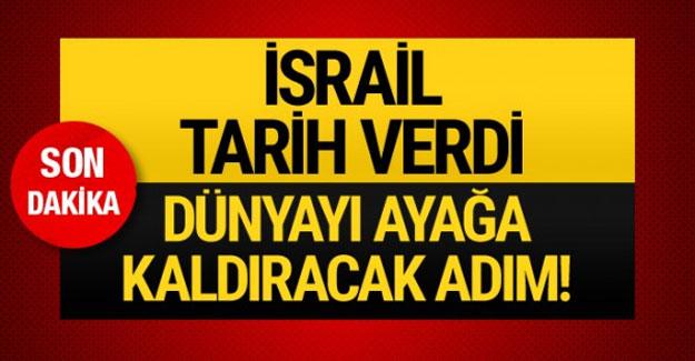 İsrail'den son dakika haberi