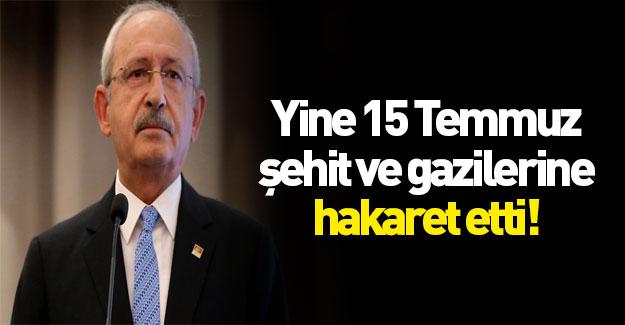 Kılıçdaroğlu'ndan skandal sözler!