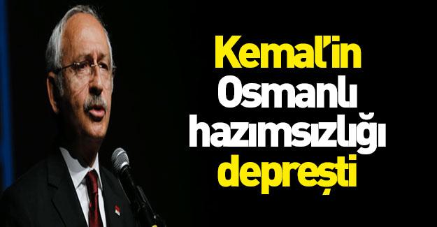 Osmanlı rahatsızlığı depreşti