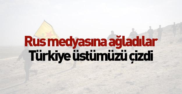 Rus medyasına ağladılar: Türkiye üstümüzü çizdi