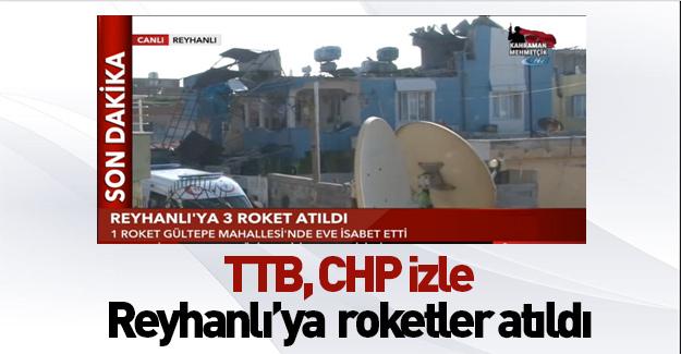 Son dakika: Reyhanlı'ya roketli saldırı