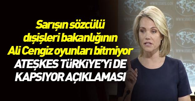 ABD ateşkes ile Türkiye'yi durdurmaya çalışıyor