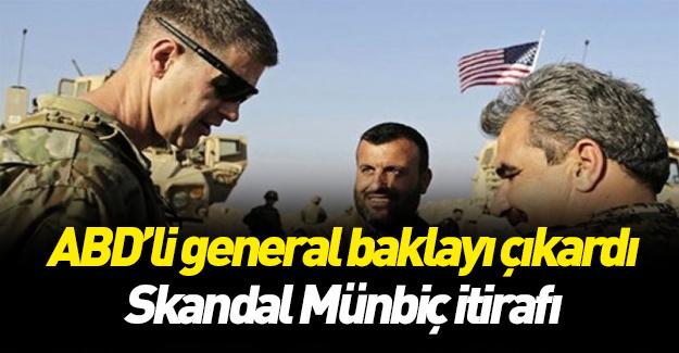 ABD'li generalden skandal Münbiç itirafı