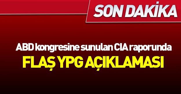 ABD'ye sunulan CIA raporunda YPG ayrıntısı
