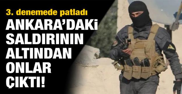 Ankara'daki patlamanın altından 'YAT' çıktı!