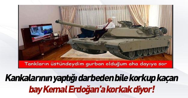 Bay Kemal yine kendini aştı
