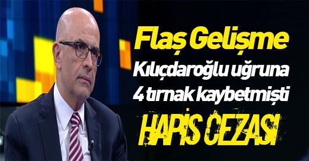 Berberoğlu'na hapis cezası