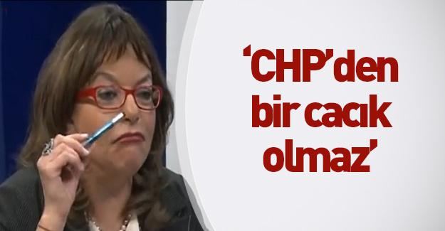 """CHP'den bi cacık olmaz"""