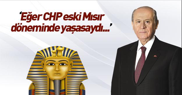 Devlet Bahçeli'den CHP'ye sert gönderme