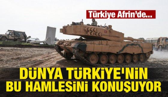 Dünya Türkiye'nin bu hamlesini konuşuyor