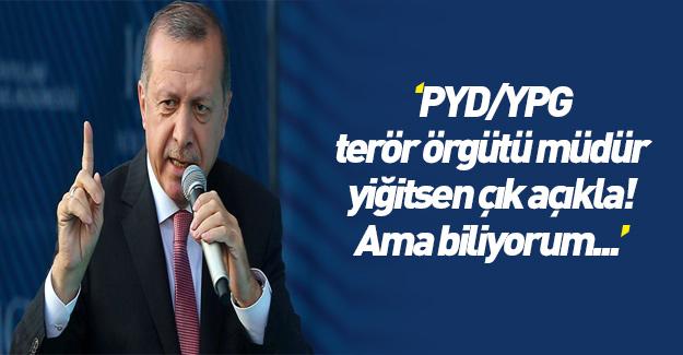 Erdoğan'dan salvolar
