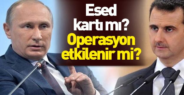 Esed'in Afrin'e girmesi operasyonu etkiler m?