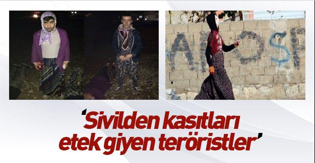"""Flaş açıklama: """"Bunlar etek giymiş teröristler"""""""