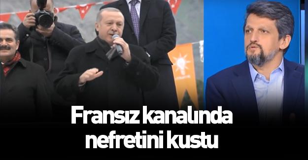 HDP'li vekilden Fransız kanalında skandal sözler!
