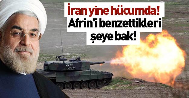 İran yine saldırdı! Afrin'i öyle bir şeye benzettiler ki...