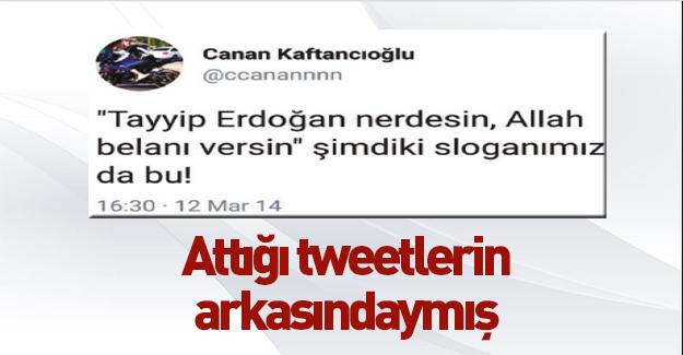 Kaftancıoğlu o tweet'lerin arkasında durdu