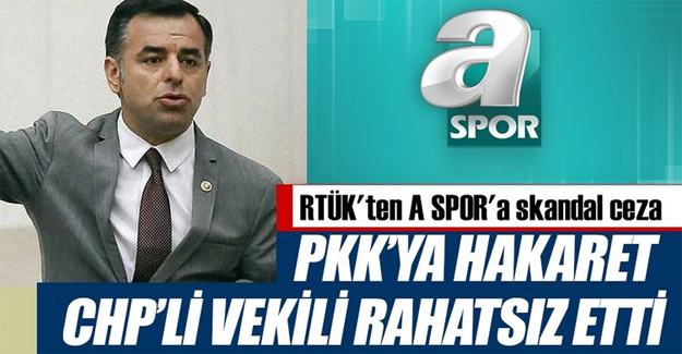 PKK edilen küfür CHP'nin ağrına gitti