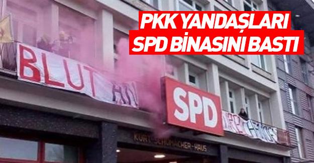 PKK'lılar SPD binasını bastı