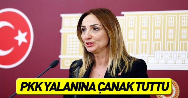 PKK'nın yalanına Nazlıaka çanak tuttu