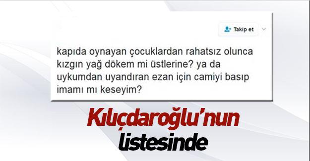Şehitleri aşağılayan o isim Kılıçdaroğlu'nun listesinde