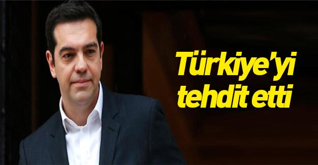 Yunanistan'dan aşağılık tehdit