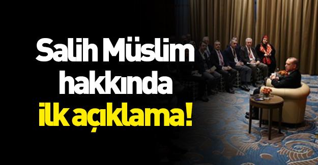 Cumhurbaşkanı Erdoğan'dan Salih Müslüm resti!