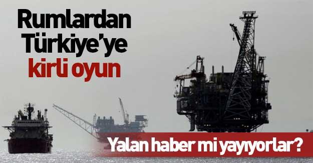 Rumlardan Türkiye'ye 'gaz oyunları'