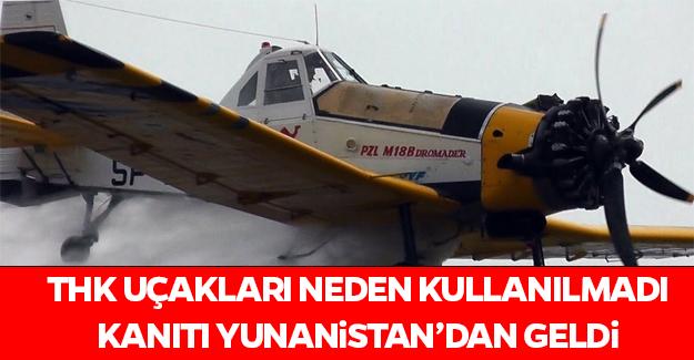 THK'nın uçakları neden kullanılmadı sorusuna yanıt gibi olay