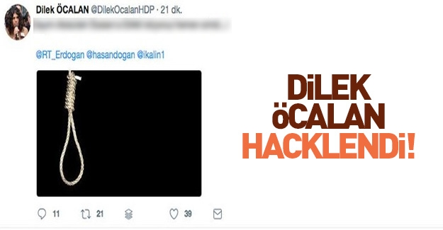 Dilek Öcalan Hacklendi!
