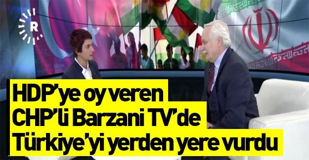 Murat Özçelik Barzani TV'de Türkiye'yi eleştirdi