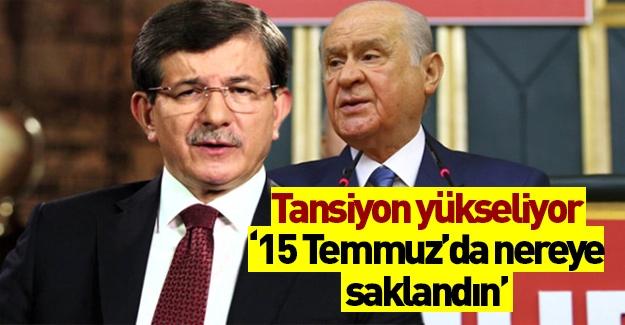 MHP Davutoğlu kavgası büyüyor!