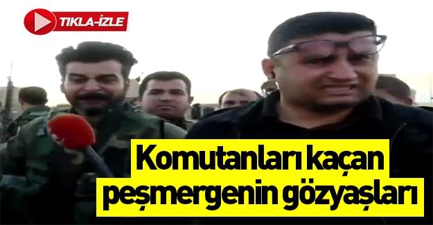 Barzani'nin peşmergeleri kaçtı!