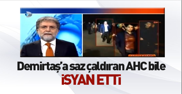 Ahmet Hakan bile tepki gösterdi!