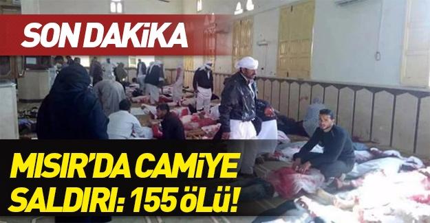 Mısır'da camiye saldırı!