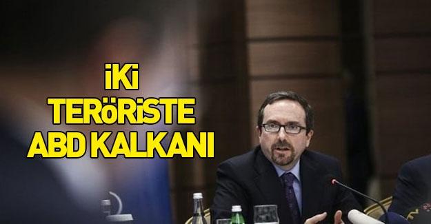Türkiye'de aranan 2 teröriste ABD kalkanı
