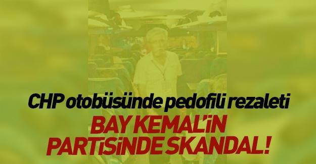 CHP'de çocuk tacizi skandalı