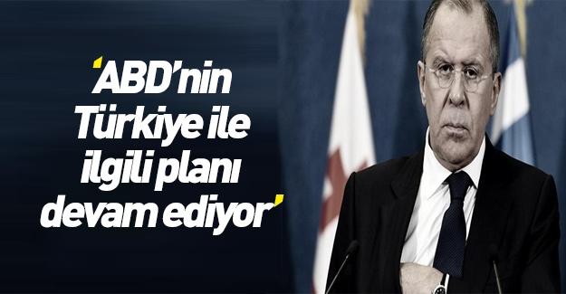 """""""ABD'nin Türkiye ile ilgili planı devam ediyor"""""""
