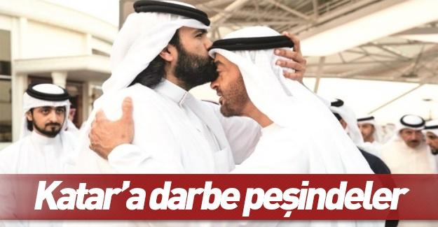 Katar'da darbe peşindeler!