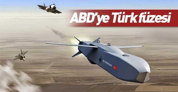 ABD'ye Türk füzesi! Özel olarak tasarlandı