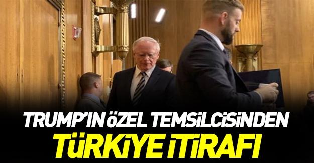 Trump'ın Özel Temsilcisi'den 'Türkiye' itirafı