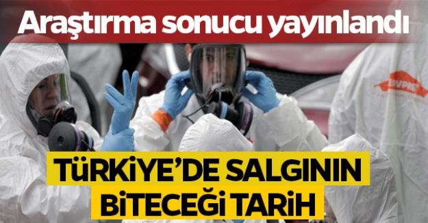 Korona araştırması yayınlandı