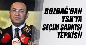 """Bekir Bozdağ'dan YSK tepkisi! """"CHP besmelesiz kampanya yapabilir"""""""